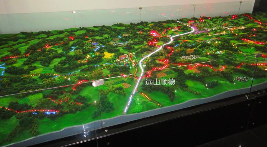 北京远山顺德模型--南川区资源分布