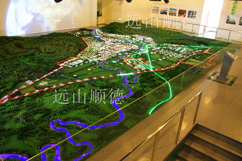 北京远山顺德注册送38彩金--汤旺河林区规划沙盘