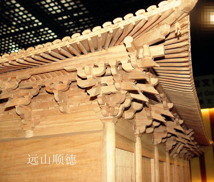 北京远山顺德模型--五台山佛光寺模型