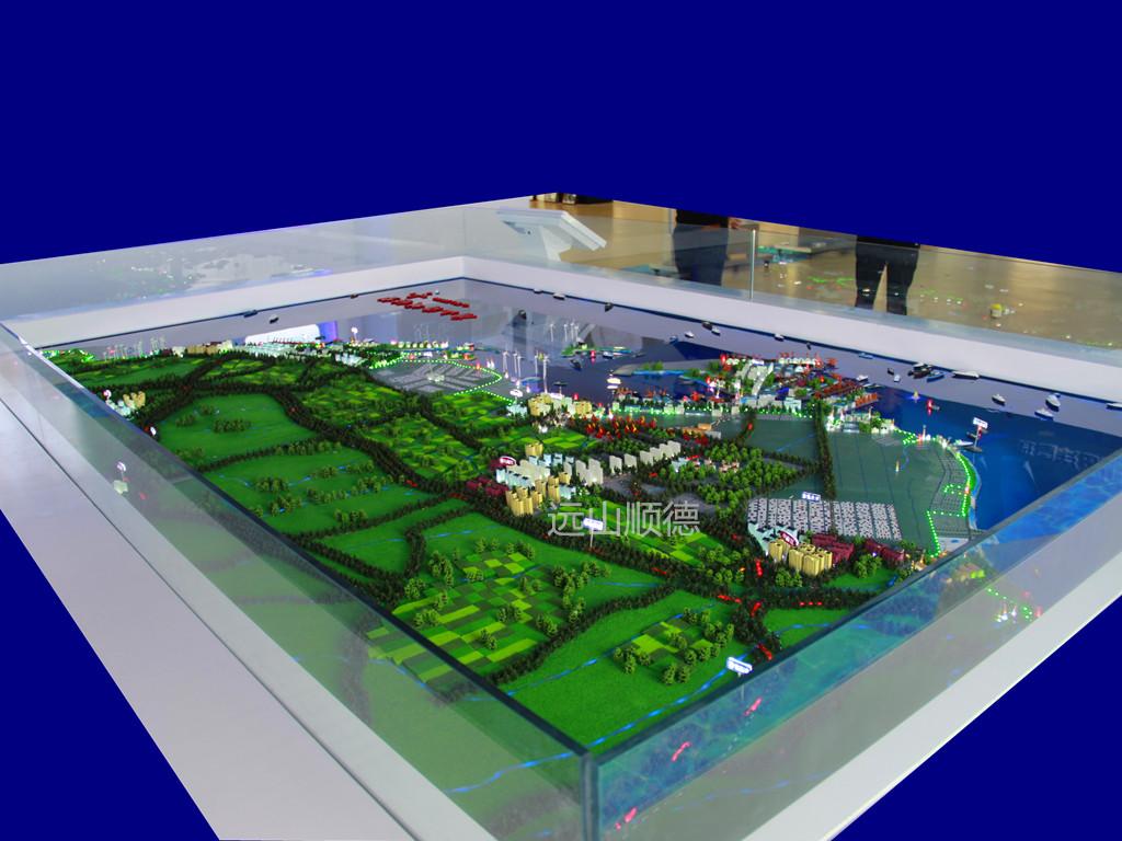 北京远山顺德模型--曹妃甸码头规划沙盘